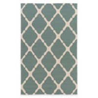Style Statements by Surya 2-Foot x 3-Foot Masis Indoor/Outdoor Accent Rug in Green/Grey