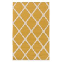 Style Statements by Surya 8-Foot x 10-Foot Masis Indoor/Outdoor Area Rug in Gold/Grey
