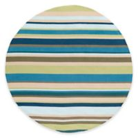 Style Statements by Surya Mount Lola 8-Foot Round Indoor/Outdoor Area Rug in Lime