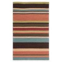 Style Statements by Surya Mount Lola 8-Foot x 10-Foot Indoor/Outdoor Area Rug in Burgundy