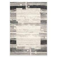 Safavieh Evoke Stripe 4-Foot x 6-Foot Area Rug in Ivory/Grey