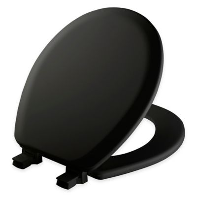 wooden black toilet seat. Mayfair Round Molded Wood Toilet Seat in Biscuit with Easy Clean  Change Hinge Buy Black Seats from Bed Bath Beyond