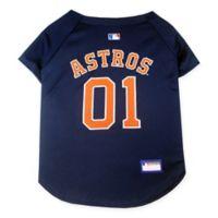 MLB Houston Astros Medium Pet Jersey