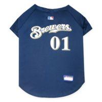 MLB Milwaukee Brewers X-Small Pet Jersey