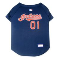 MLB Cleveland Indians X-Small Pet Jersey