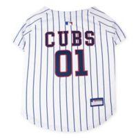 MLB Chicago Cubs Medium Pet Jersey