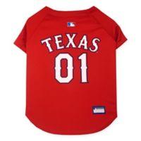 MLB Texas Rangers Small Pet Jersey