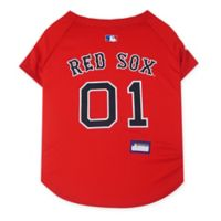 MLB Boston Red Sox Large Pet Jersey