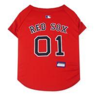 MLB Boston Red Sox Medium Pet Jersey
