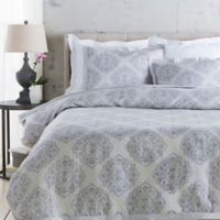 Surya Anniston Full/Queen Duvet Cover in Light Grey