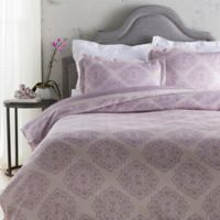 Surya Anniston Twin Duvet Cover in Purple