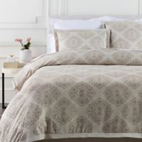 Surya Anniston Full/Queen Duvet Cover in Natural