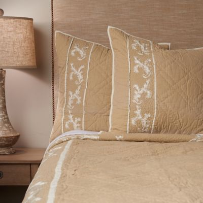 Jessica Standard Pillow Sham in Natural