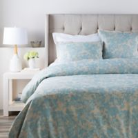 Surya Clara Full/Queen Duvet Cover in Blue
