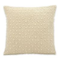 Kathy Ireland Home® by Gorham 16-Inch Square Throw Pillow in Ivory