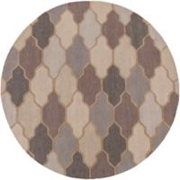Artistic Weavers Pollack Morgan 3-Foot 6-Inch Round Area Rug in Grey
