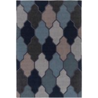 Artistic Weavers Pollack Morgan 3-Foot x 5-Foot Area Rug in Blue