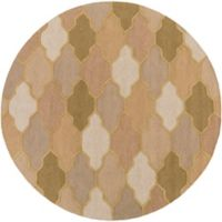 Artistic Weavers Pollack Morgan 6-Foot Round Area Rug in Beige