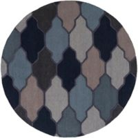 Artistic Weavers Pollack Morgan 6-Foot Round Area Rug in Blue