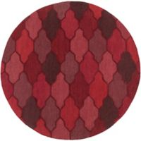 Artistic Weavers Pollack Morgan 8-Foot Round Area Rug in Red