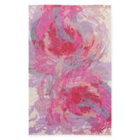 Surya Valetta 5-Foot x 8-Foot Area Rug in Hot Pink