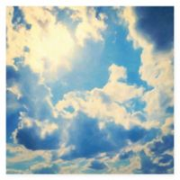 Marmont Hill Clouds 24-Inch x 24-Inch Canvas Wall Art