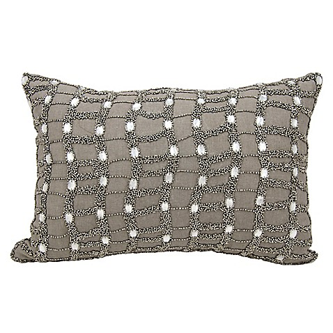 Throw Pillows Matching Curtains : Michael Amini Ladders Accent Throw Pillow - www.BedBathandBeyond.com