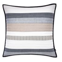 Nautica® Tideway Quilted Square Throw Pillow in Neutral