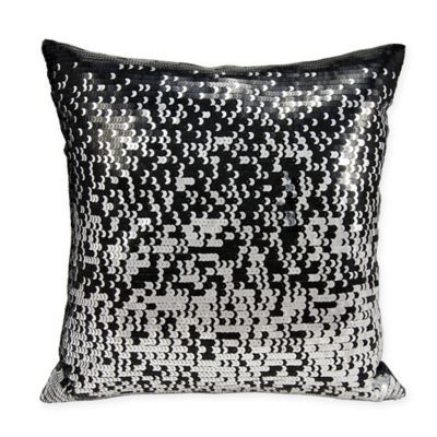 Attractive Buy Silver Sequin Pillow from Bed Bath & Beyond US61