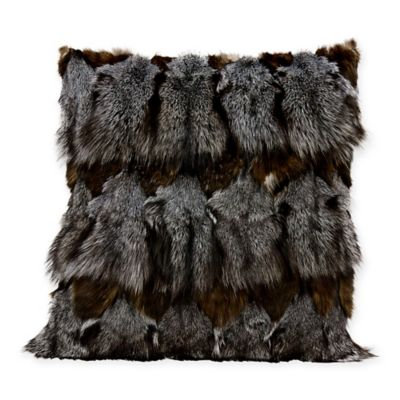 Buy Faux Fur Throw Pillows From Bed Bath Amp Beyond