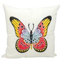 Kathy Ireland Home® by Gorham Butterfly Square Throw Pillow