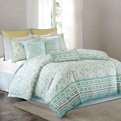 Buy Aqua King Comforter Set From Bed Bath U0026 Beyond