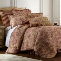 Sherry Kline Country Sunset King Comforter Set in Burgundy