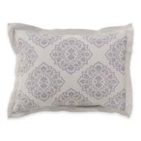 Surya Anniston Standard Pillow Sham in Light Grey