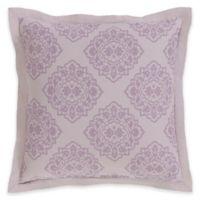 Surya Anniston European Pillow Sham in Purple