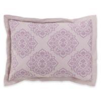 Surya Anniston Standard Pillow Sham in Purple