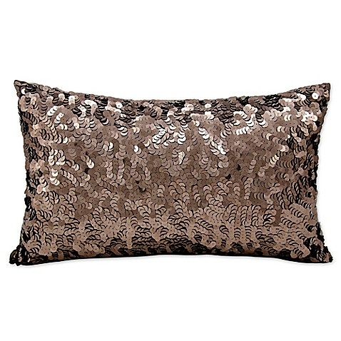 Michael Amini Circle Sequin Rectangular Throw Pillow - Bed Bath & Beyond