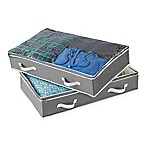 Studio 3B™ Underbed Storage Bag in Grey (Set of 2)