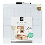 Square Dry Erase Calendar in White