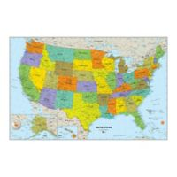 WallPops!® Dry-Erase USA Map