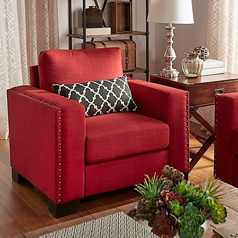Verona Home Darby Nailhead Accent Furniture Collection In