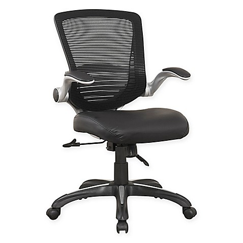 Manhattan Comfort Ergonomic Walden Faux Leather Office