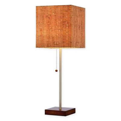 Adesso Sedona Table Lamp In Walnut
