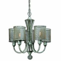 Uttermost Pontoise 5-Light Vintage Chandelier in Ivory