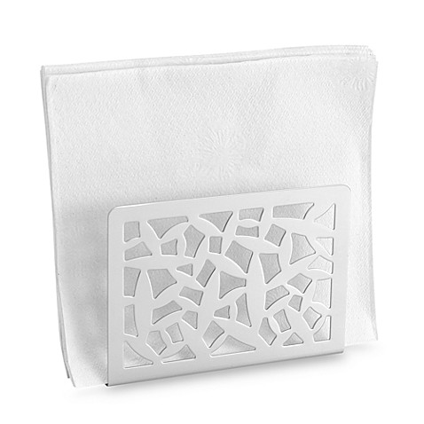Alessi cactus napkin holder bed bath beyond for Bathroom napkin holder
