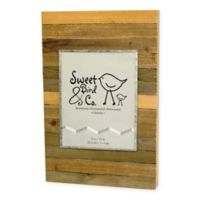 Sweet Bird & Co. 8-Inch x 10-Inch Reclaimed Wooden Photo Frame in Vintage Natural
