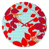 DENY Designs Caroline Okun Petiole Round Wall Clock