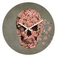 DENY Designs Terry Fan Reincarnate Round Wall Clock