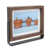 Umbra Axis 5-Inch x 7-Inch Wood Basic Frame in Aged Walnut