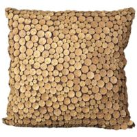 Mina Victory Button Collection Button Square Throw Pillow in Green